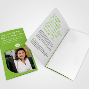 A3 Folded Leaflet 6pp - Single-sided