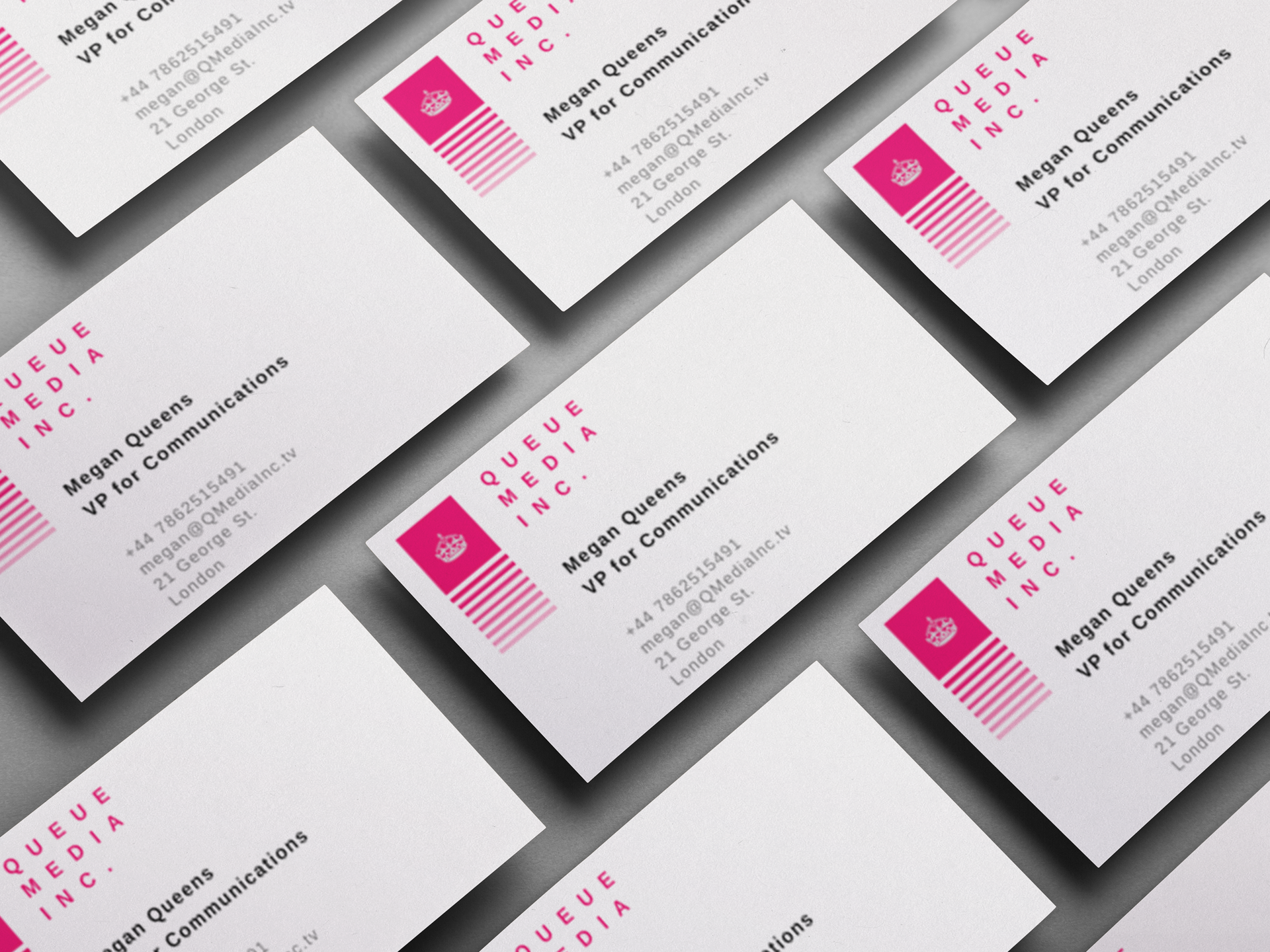 Basic business cards friday media print basic business cards colourmoves Images
